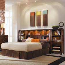 bookcase bedroom set tribecca queen bookcase bed with nightstands contemporary