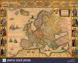 Map Of Europe 1648 by Historical Map Europe Stock Photos U0026 Historical Map Europe Stock