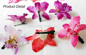 flower hair pins hawaii hair accessories wedding bridal hair clip pins