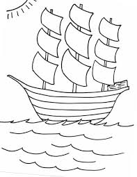 mayflower coloring pages getcoloringpages