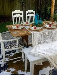 october vignettes apples aqua dining table setting twelveoeight