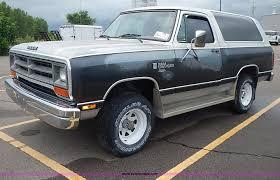 Dodge Ram Suv - 1986 dodge ram 150 royal se charger suv item i3629 sold
