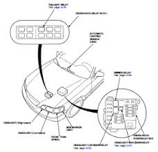honda acura 3 5l body electrical wiring diagram and harness 96 u2013 04