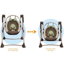 Graco High Chair 4 In 1 Graco Swing By Me Portable 2 In 1 Musical Swing Dakota Toddler