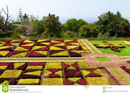 famous gardens famous tropical botanical gardens in funchal stock image image