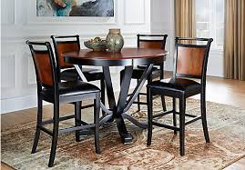 round table orland ca picture of orland park 5 pc counter height dining set from dining