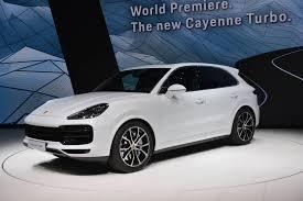 Porsche Cayenne 16 - iaa frankfurt 2017 porsche cayenne turbo gtspirit