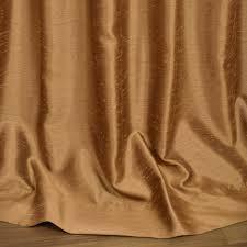 Faux Dupioni Silk Curtains Buy Empire Gold Yarn Dyed Faux Dupioni Silk Curtains
