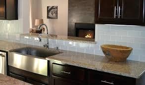 backsplash tiles for dark cabinets kitchen backsplash with dark cabinets modern style gray glass tile