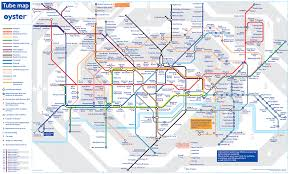 Underground Map The London Tube Map 15 Meanings