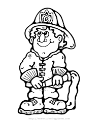 fireman coloring pages ngbasic