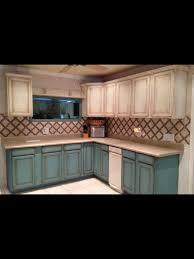 Chalk Paint Ideas Kitchen by Chalk Painted Cabinets Paintiques By Lisa Harrison My Projects
