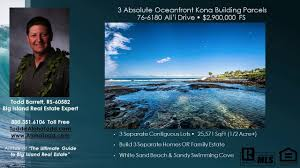 kailua kona hi beach cottages and oceanfront land for sale youtube