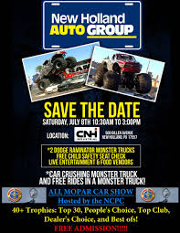 monster truck shows in pa upcoming events national chrysler products club new holland