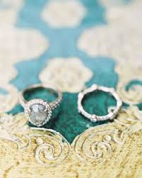 real engagement rings 20 engagement rings real brides said yes to martha stewart