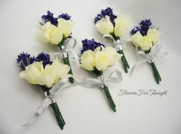 groomsmen boutonnieres lavender and boutonnieres white rosebud groomsmen lapel