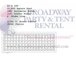 tent seating layouts broadway party u0026 tent rental