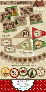 Backyard Campout Ideas 173 Best Camp Out Party Images On Pinterest Camping Parties