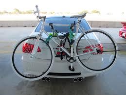 bmw mountain bike trunk mounted bike rack for e92
