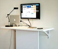 Wall Mount Computer Desk Wall Mounted Computer Desk Mount Cheap And Easy Use Ideas Desks