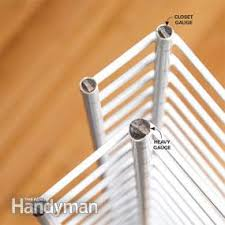 how to install wire shelving family handyman