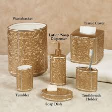 White Bathroom Accessories Ceramic by Bathroom Enchanting Ceramic White And Gold Bathroom Accessories