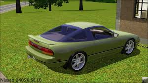 nissan 240sx hatchback modified mod the sims 1990 nissan 240sx se j 1 29