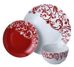 buy home 12 porcelain damask dinner set at argos co uk