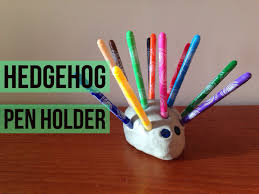 hedgehog pen holder red kite days
