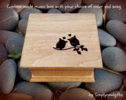 Engravable Music Box Music Box Wooden Music Box Custom Made Music Box Customized