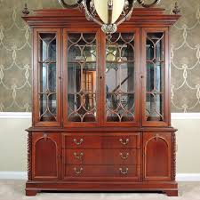 lexington furniture china cabinet lexington dining room china cabinet ebth