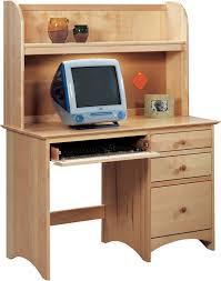 Small Maple Computer Desk Vermont Precision Woodworks