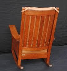 Mission Oak Rocking Chair Voorhees Craftsman Mission Oak Furniture L U0026 J G Stickley