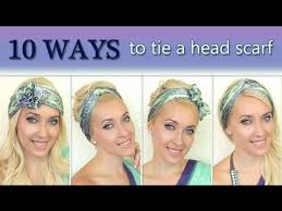 10 different ways to wear 1 scarf on your head how to tie a