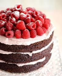 chocolate raspberry cake dessert delights