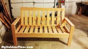 diy outdoor sofa myoutdoorplans free woodworking plans and