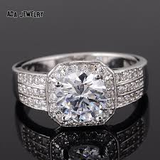 white zircon rings images Zircon rings for women wedding ring big crystal jewelry engagement jpg