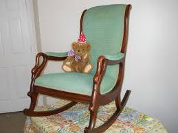 Vintage Childrens Rocking Chairs Swan Arm Rocking Chair Inspirations Home U0026 Interior Design