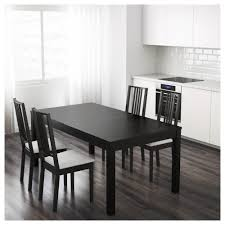 Dining Room Set Ikea by Bjursta Extendable Table Brown Black Ikea