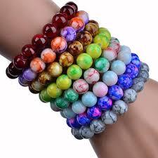 glass beads bracelet images 8mm glass bead bracelet 2018 handmade natural stone glass beads jpg
