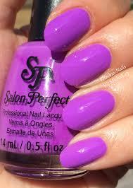 ehmkay nails salon perfect neons purple pop and wrapped around