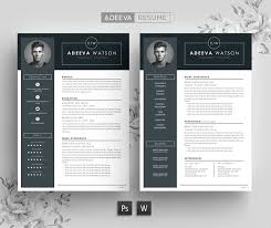 professional resume template professional resume template watson resume templates creative market
