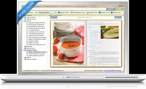 tablette pour recette de cuisine le collectionneur de recettes logiciel de recettes et créateur de