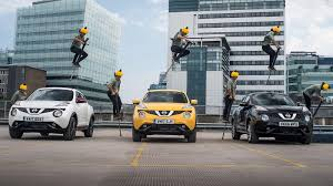 nissan juke yellow 2017 nissan u0027s jukecam is a dashcam for adrenaline junkies roadshow