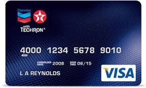 chevron and texaco visa card