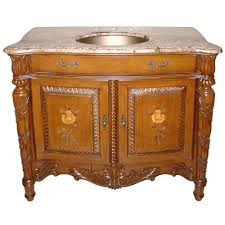 41 Bathroom Vanity Lanza Wf6203 Antique Bathroom Vanity Marble Top Vanity With Brass Sink