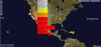 Earthquake Incident Map 3 20 2012 U2014 Be Alert U2014 Global Earthquake Activity U003d 7 6m 7 9m In