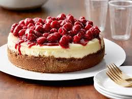 raspberry recipes raspberry cheesecake recipe ina garten food network