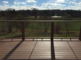 oconomowoc azek radius deck with cable rail system