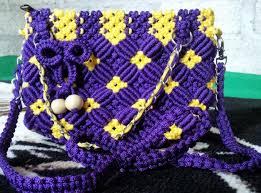 cara akhir membuat tas dari tali kur cara membuat 27 macam tas tali kur terbaru berbagai motif